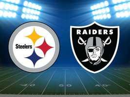 Week 3: Steelers at Oakland, Sept. 23. (FINAL: Raiders 34, Steelers 31)