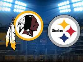 Week 8: Steelers vs. Washington Redskins, Oct. 28. (FINAL: Pittsburgh 27, Washington 12)