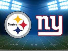 Week 9: Steelers at New York Giants, Nov. 4. (FINAL: Pittsburgh 24, New York 20)
