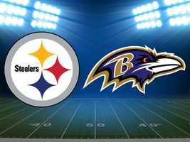 Week 13: Steelers at Baltimore Ravens, Dec. 2. (FINAL Pittsburgh 23, Baltimore 20)
