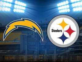 Week 14: Steelers vs. San Diego Chargers, Dec. 9. (FINAL: San Diego 34, Pittsburgh 24)