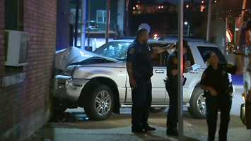 It happened near the corner of Penn Avenue and 25th Street at about 3:50 a.m.