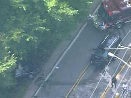 Steubenville Pike crash