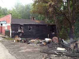 A fire in Springhill Township, Fayette County, also caused damage at a neighboring post office.