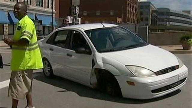 Candice Wischmann's car