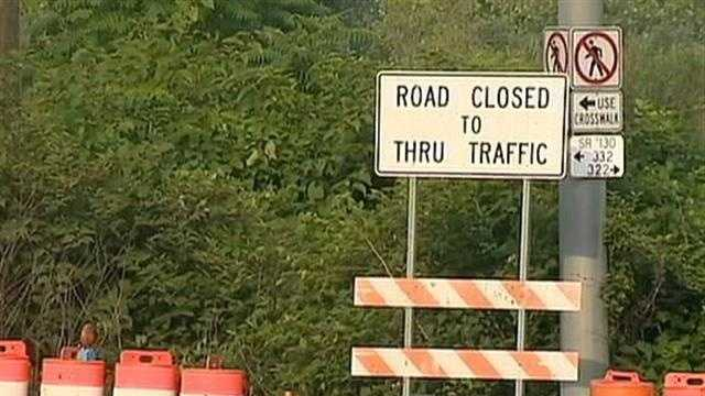 Route 48 closed 01