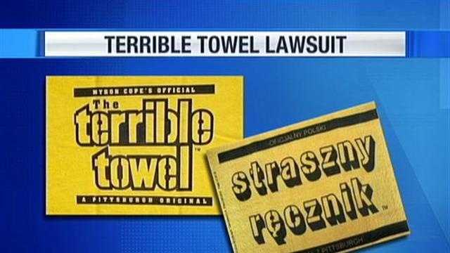 Terrible Towel vs knockoff