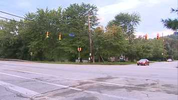 Holiday Park Drive at Route 286
