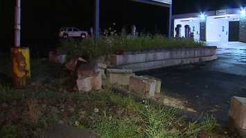 The crash happened outside the LaserWash car wash on Route 30 at about 1:30 a.m.