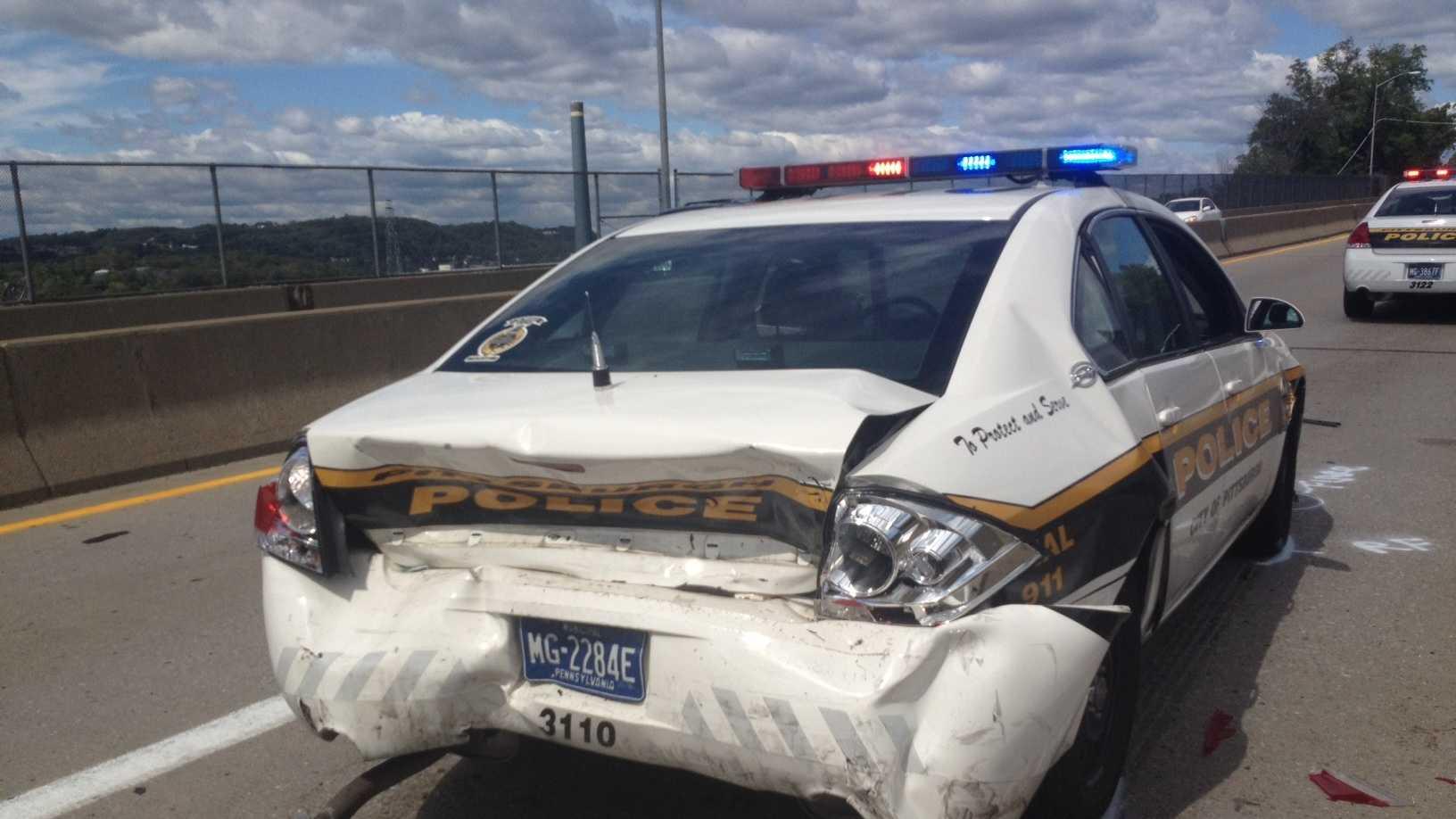 Route 65 police crash