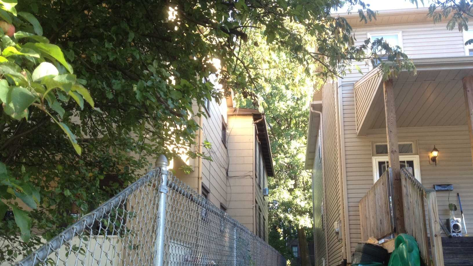 Wilkinsburg porch cut-through