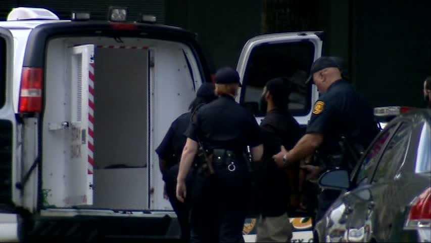 Klein Thaxton in custody