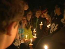 Friends held a vigil at the accident scene on Fairview Avenue in Chalfant.