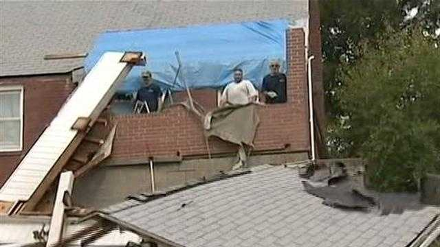 roof collapse in West Mifflin 01