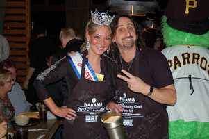 Miss Pennsylvania and her co-chef