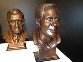 Dan Rooney and Lynn Swann