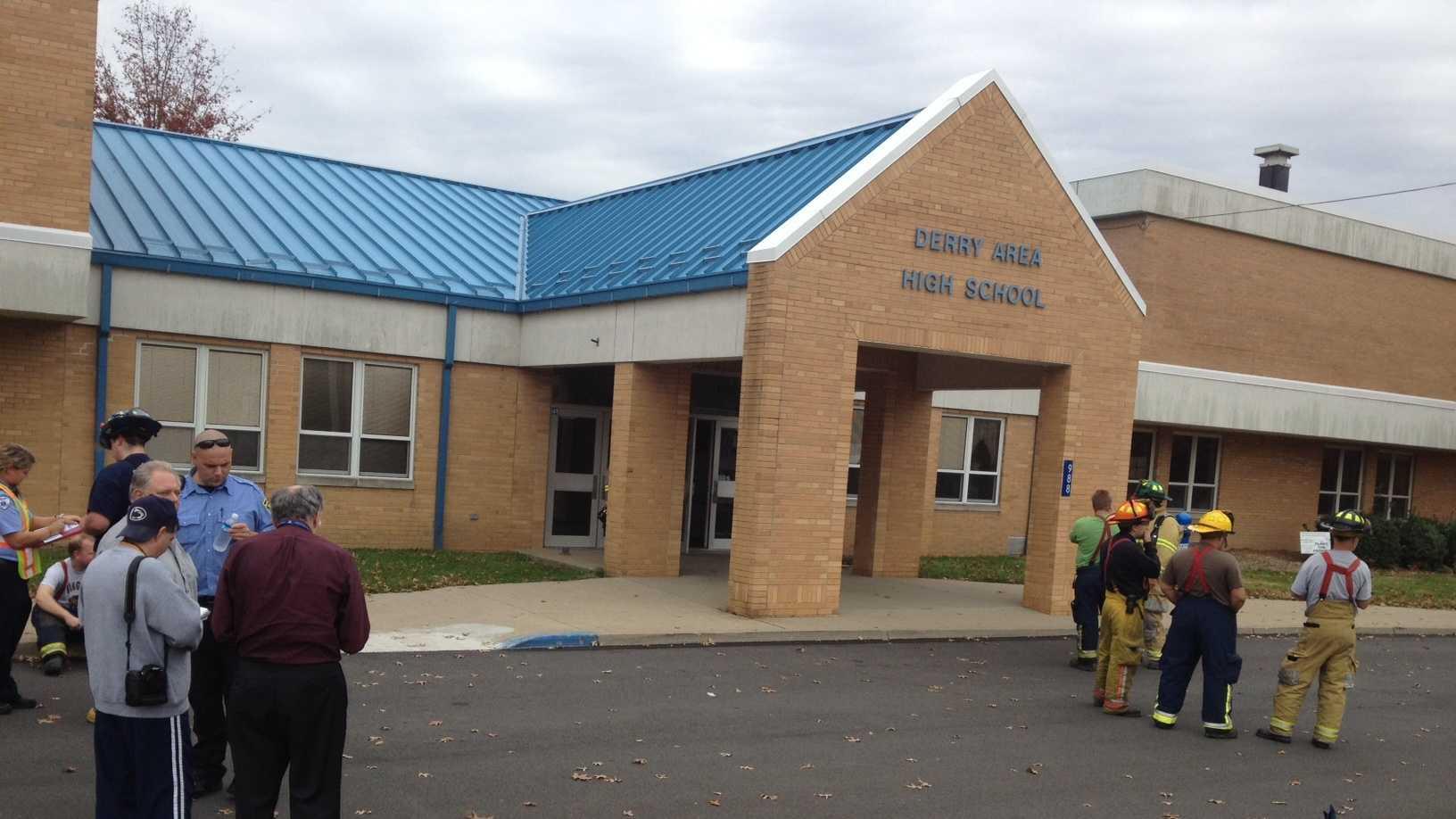 Derry Area High School evacuation 3