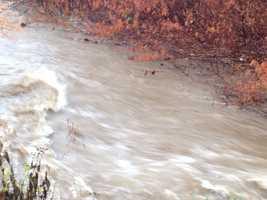 Loyalhanna Creek flooding