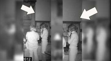 More video showed two orbs coming out of Bell's body.