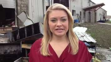 WTAE's Ashlie Hardway reports on the Joseph Krow Company fire.