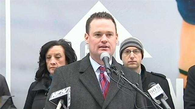 Pittsburgh Mayor Luke Ravenstahl