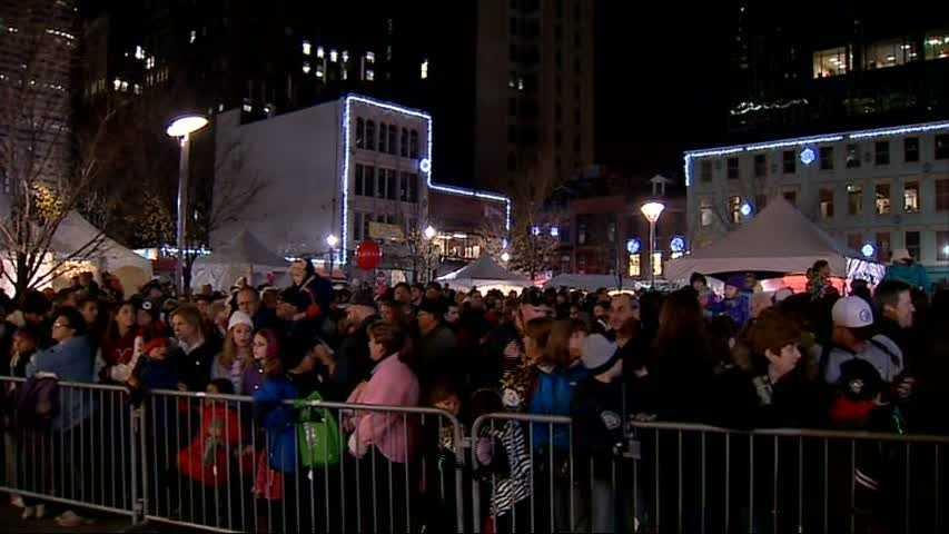 Light Up Night crowd