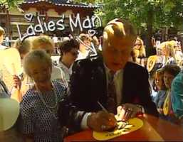 Joe DeNardo at WTAE Day at Kennywood Park back in the day