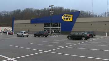 Best Buy at the North Hills Village shopping center on McKnight Road in Ross Township