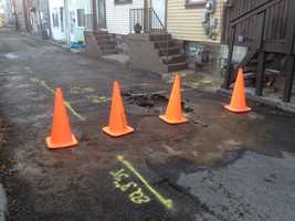 Customers in the 5100 block of Natrona Way were left without water service.