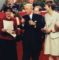 WTAE Legend Joe DeNardo and Michelle Wright hosting the telethon back in the 90's... WTAE Project Bundle-Up puts warm coats and gloves on local children and senior citizens in need each year.