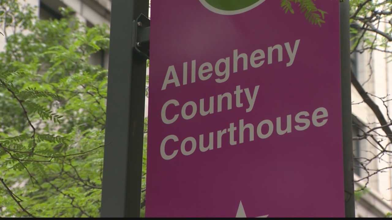 Allegheny County Courthouse sign