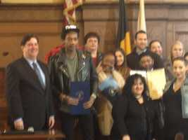 The council recognized the rapper for his constant promotion of Pittsburgh in music and interviews.
