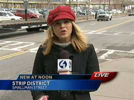 Amber Nicotra reports from the Strip District accident scene.VIDEO: Watch the report