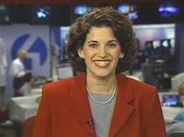 When she was promoted to anchor the noon news in 1999, she sat on her hands to keep them from shaking.
