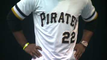 The Pittsburgh Pirates have unveiled a new alternate uniform that will be worn by the team during Sunday home games at PNC Park during the 2013 season.