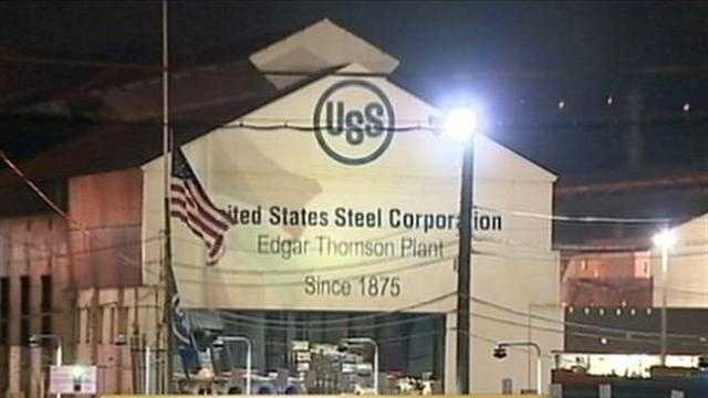 1 injured in U.S. Steel plant explosion