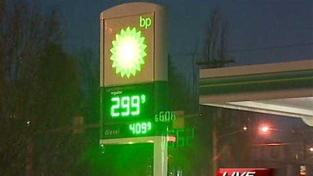 BP $2.99 gas prices
