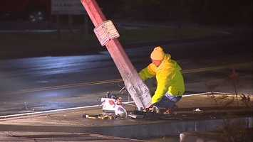 The accident happened near the intersection of Route 19 and Warrendale-Bayne Road at about 2:30 a.m. Wednesday.