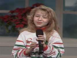 "On Christmas Eve 1991, Christina Aguilera was guest on WTAE Channel 4 where she performed ""Silent Night"""