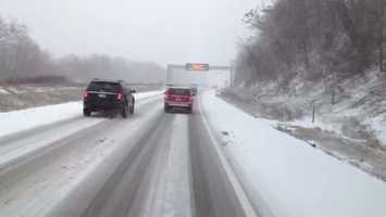 Interstate 79 near Bridgeville