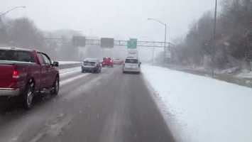 Interstate 376/Parkway West near Carnegie