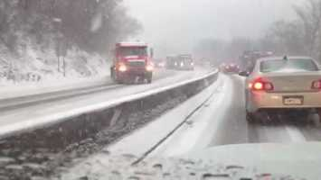 Interstate 376/Parkway West near Green Tree Hill