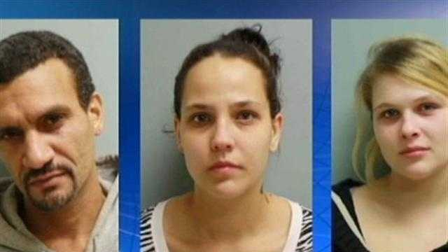 Jesus Santiago, Danielle Clawson and Tiffany Blattenberger