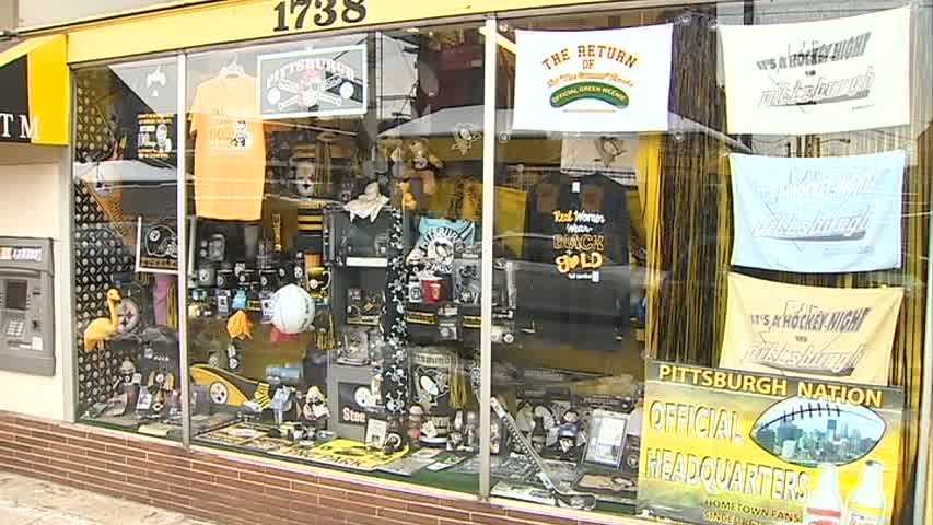 Pittsburgh sports merchandise