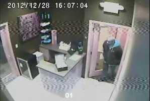 Pittsburgh police say a burglar broke into a Shadyside yoga studio and stole money from a cash register.