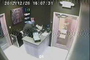 Police said the burglary happened between 2:50 p.m. and 3:10 p.m.