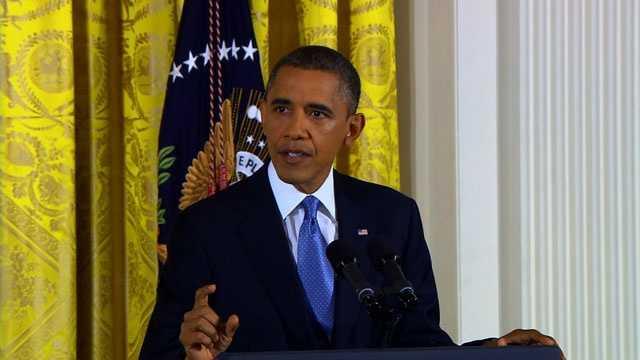 Obama news conference, 1-14-13