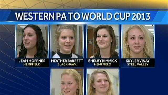 img-softball players competing in Indoor World Cup