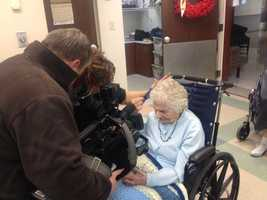 Irene Ciuffoletti will celebrate her 110th birthday on Saturday. She was born on Jan. 19, 1903.