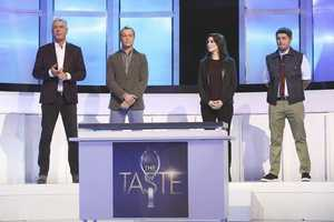 THE JUDGES... The pressure is on when Anthony Bourdain, Nigella Lawson, Ludovic Lefebvre and Brian Malarkey put 29 professional chefs and home cooks through their first grueling round of blind taste tests -- in which just a single spoonful will decide whether or not they make it past the audition phase and into the competition.
